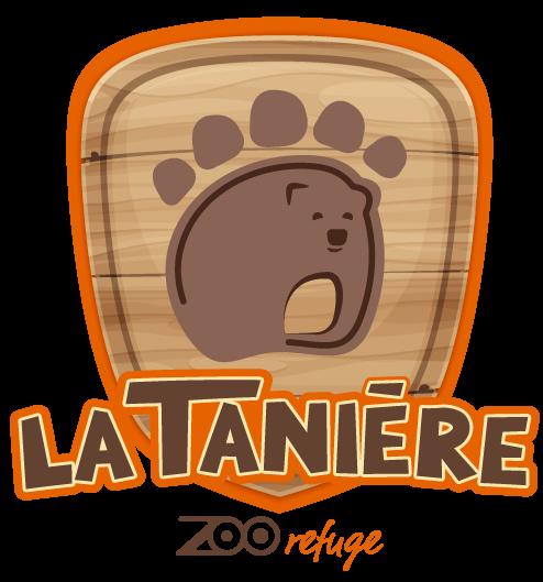 Zoo-refuge La Tanière Logo