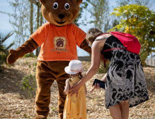 La Tanière installe un centre de dépistage à l'entrée du zoo-refuge