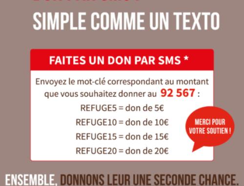 Don par SMS : simple comme un texto